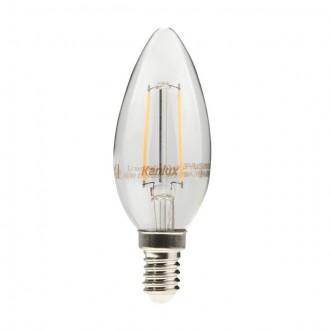 KANLUX 22469 | E14 4W -> 35W Kanlux sviečka C35 LED svetelný zdroj filament 400lm 2700K 360°