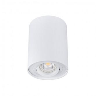 KANLUX 22551 | Bord Kanlux stropné svietidlo hriadeľ otáčateľný svetelný zdroj 1x GU10 biela
