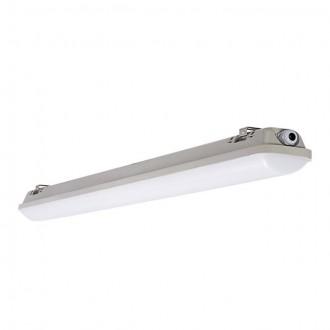 KANLUX 22601 | Mah_LED Kanlux stropné svietidlo 1x LED 3100lm 4000K IP65 IK10 UV sivé, biela