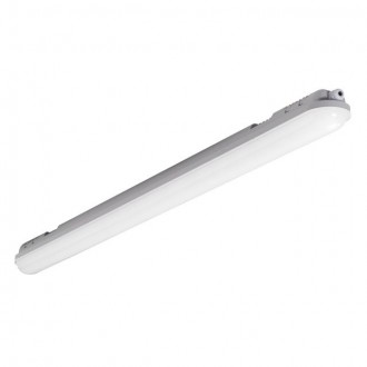 KANLUX 22605 | Mah-LED Kanlux stropné svietidlo 1x LED 5250lm 4000K IP65 IK08 sivé, biela