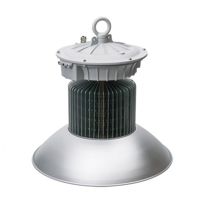 KANLUX 22872 | Euro-LED Kanlux LED osvetlenie haly svietidlo zástrčka - bez spínača 1x LED 14250lm 4000K IP65 sivé, hliník