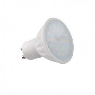 KANLUX 22910 | GU10 5W -> 34W Kanlux spot LED svetelný zdroj TRIColor 400lm 2700 - 4000 - 6500K nastaviteľná farebná teplota 120° CRI>80