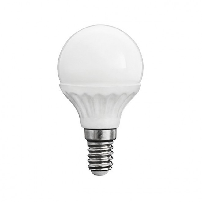 KANLUX 23042 | E14 5W -> 37W Kanlux malá guľa G45 LED svetelný zdroj SMD 420lm 3000K 200° CRI>80