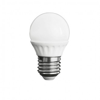KANLUX 23043 | E27 5W -> 37W Kanlux malá guľa G45 LED svetelný zdroj SMD 420lm 3000K 200° CRI>80