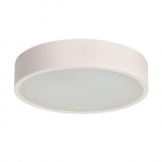 KANLUX 23124 | Jasmin-K Kanlux stenové, stropné svietidlo kruhový 2x E27 biela dub, biela