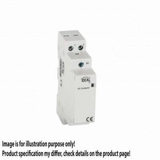 KANLUX 23251 | Kanlux stýkač DIN35 modul - 1, 25A/8,5A - 20 svetlo šedá