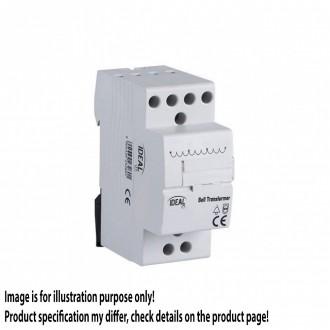 KANLUX 23260 | Kanlux zvončeky, montovateľné na lišty transformátor DIN35 modul, 8V/12V/24V svetlo šedá