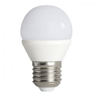 KANLUX 23421 | E27 6,5W -> 48W Kanlux malá guľa G45 LED svetelný zdroj SMD 600lm 4000K 200°