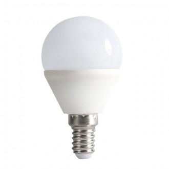 KANLUX 23422 | E14 6,5W -> 48W Kanlux malá guľa G45 LED svetelný zdroj SMD 600lm 3000K 200°