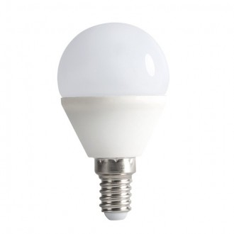 KANLUX 23423 | E14 6,5W -> 48W Kanlux malá guľa G45 LED svetelný zdroj SMD 600lm 4000K 200°