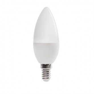 KANLUX 23431 | E14 6,5W -> 48W Kanlux sviečka C37 LED svetelný zdroj SMD 600lm 4000K 210°
