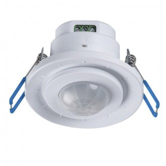 KANLUX 23451 | Kanlux pohybový senzor PIR 360° zabudovateľné kruhový biela