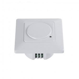 KANLUX 23453 | Kanlux pohybový senzor MW 180° zabudovateľné štvorec biela