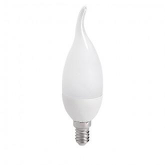 KANLUX 23491 | E14 6,5W -> 48W Kanlux sviečka - dekor FC38 LED svetelný zdroj SMD 600lm 4000K 210°
