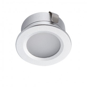 KANLUX 23521 | Imber Kanlux zabudovateľné svietidlo kruhový Ø30mm 1x LED 40lm 6500K IP65 strieborný