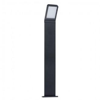KANLUX 23554 | Sevia Kanlux stojaté svietidlo obdĺžnik 80cm 1x LED 600lm 4000K IP54 čierna