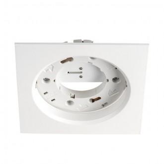 KANLUX 23782 | Volantio Kanlux zabudovateľné svietidlo štvorec 106x106mm 1x GX53 biela