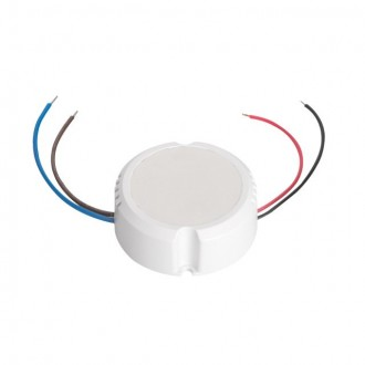 KANLUX 24241 | Kanlux LED napájací zdroj 12V DC 0-15W 1,25A kruhový biela