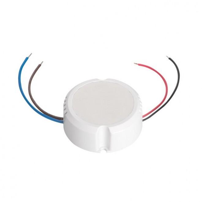 KANLUX 24241   Kanlux LED napájací zdroj 12V DC 0-15W 1,25A kruhový biela