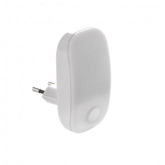 KANLUX 24370 | Plugi Kanlux konektorové svietidlo svietidlo prepínač 1x LED 2lm 3000K biela