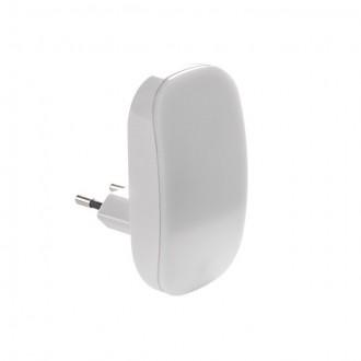 KANLUX 24371 | Plugi Kanlux konektorové svietidlo svietidlo svetelný senzor - súmrakový spínač 1x LED 1lm 3000K biela