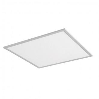 KANLUX 24639 | Bravo Kanlux sadrokartónový strop, stropné, visiace LED panel štvorec 1x LED 5000lm 4000K strieborný, biela