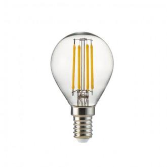 KANLUX 25411 | E14 4W -> 35W Kanlux malá guľa P45 LED svetelný zdroj filament 400lm 2700K 360°