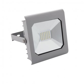 KANLUX 25584 | Antra Kanlux svetlomet svietidlo štvorec otočné prvky 1x LED 2300lm 4000K IP65 sivé