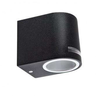 KANLUX 25662 | Novia Kanlux stenové svietidlo 1x GU10 IP44 čierna