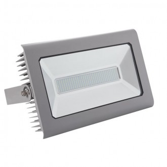 KANLUX 25700 | Antra Kanlux svetlomet svietidlo obdĺžnik otočné prvky 1x LED 15000lm 4000K IP65 sivé