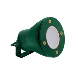 KANLUX 25720 | Akven Kanlux podvodné svietidlo 1x MR16 / GU5.3 370lm 3000K IP68 zelená