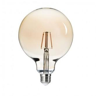 KANLUX 26042 | E27 6W -> 51W Kanlux veľká guľa G125 LED svetelný zdroj filament 650lm 2500K 300°