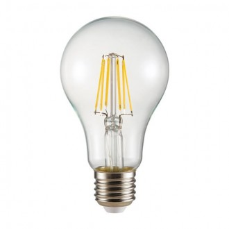 KANLUX 26044 | E27 8W -> 72W Kanlux normálne A65 LED svetelný zdroj filament 1000lm 2700K 360°