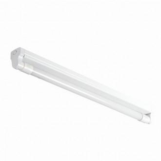KANLUX 26360 | Aldo_4LED Kanlux stropné armatúra určené pre T8 LED zdroje 1x G13 / T8 LED biela