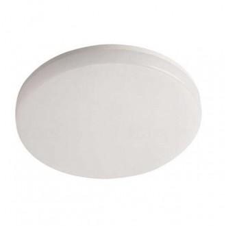KANLUX 26440 | Varso Kanlux stenové, stropné svietidlo kruhový 1x LED 1620lm 3000K IP54 IK08 biela