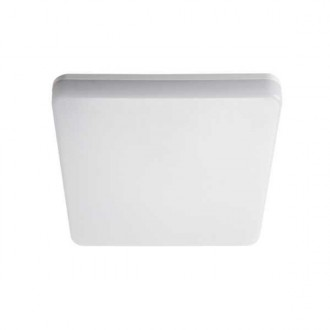 KANLUX 26443 | Varso Kanlux stenové, stropné svietidlo štvorec 1x LED 1700lm 4000K IP54 IK08 biela