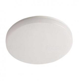 KANLUX 26444 | Varso Kanlux stenové, stropné svietidlo kruhový 1x LED 2160lm 3000K IP54 IK08 biela