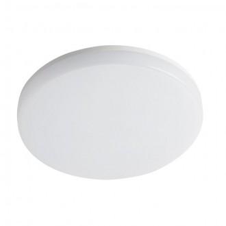 KANLUX 26445 | Varso Kanlux stenové, stropné svietidlo kruhový 1x LED 2280lm 4000K IP54 IK08 biela