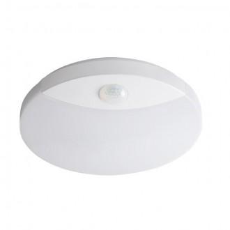 KANLUX 26520 | Sanso Kanlux stenové, stropné svietidlo kruhový pohybový senzor 1x LED 1250lm 4000K IP44 biela