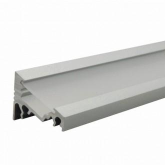 KANLUX 26541 | Kanlux hliníkový led profil C - bez tienidla - 2m pre LED pásiky max. 10 mm hliník