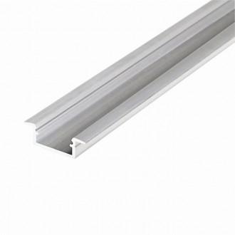 KANLUX 26549 | Kanlux hliníkový led profil K - bez tienidla - 2m hliník