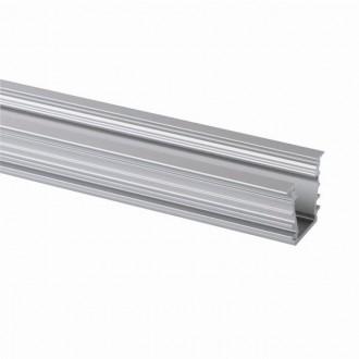 KANLUX 26554 | Kanlux hliníkový led profil I - bez tienidla - 1m pre LED pásiky max. 10 mm hliník