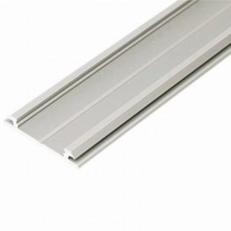 KANLUX 26561 | Kanlux hliníkový led profil H - bez tienidla - 2m hliník