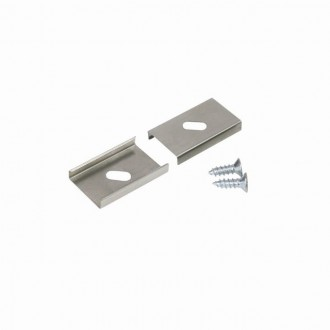 KANLUX 26597 | Kanlux úchytka C/D/E/I 2 dielna súprava hliník