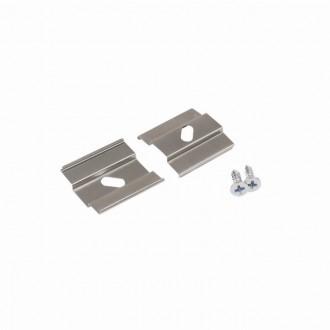 KANLUX 26599 | Kanlux úchytka H 2 dielna súprava sivé