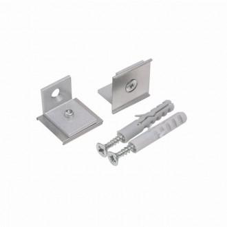 KANLUX 26600 | Kanlux úchytka H - SIDE 2 dielna súprava sivé