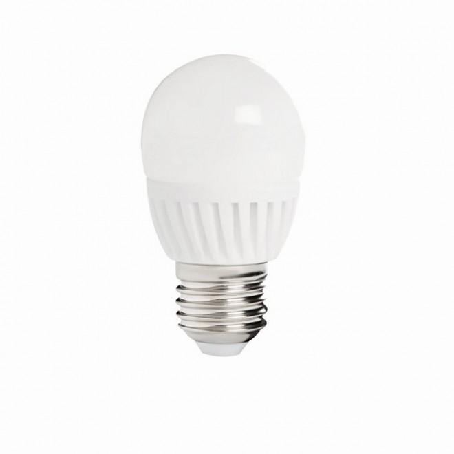 KANLUX 26764 | E27 8W -> 60W Kanlux malá guľa G45 LED svetelný zdroj SMD 800lm 3000K 210°