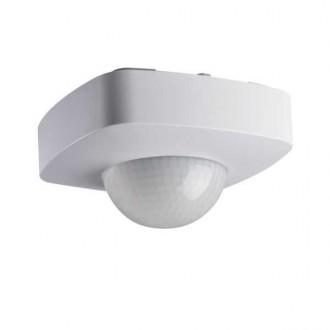KANLUX 26820 | Kanlux pohybový senzor 3xPIR, 360/120° štvorec biela