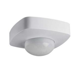 KANLUX 26821 | Kanlux pohybový senzor 2xPIR, 360/120° štvorec biela