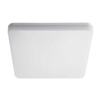 KANLUX 26983 | Varso Kanlux stenové, stropné svietidlo štvorec pohybový senzor 1x LED 2280lm 4000K IP54 IK08 biela